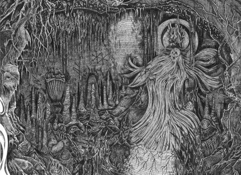 One Master  Reclusive Blasphemy Album Artwork