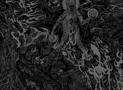 One Master Lycanthropic Burrowing Album Artwork